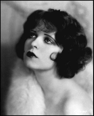 Silent film star Clara Bow