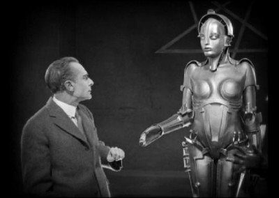 Scene from the 1927 film Metropolis.
