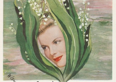 Vintage ad for Coty from the May, 1948 edition of Good Housekeeping.