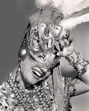 Dancer, actress and film star Carmen Miranda.