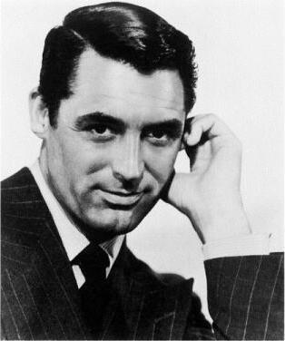 Film star Cary Grant.