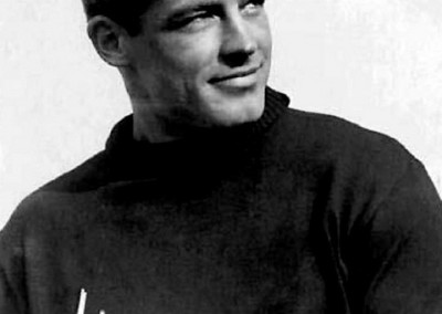 American film and television actor Guy Madison.