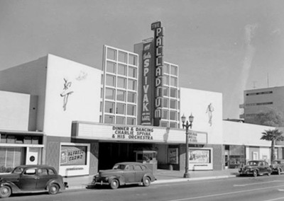 The Hollywood Palladium as it looked in 1937.