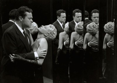 Orson Welles and Rita Hayworth in The Lady From Shanghai (1947).