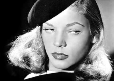 Lauren Bacall in The Big Sleep (1946).
