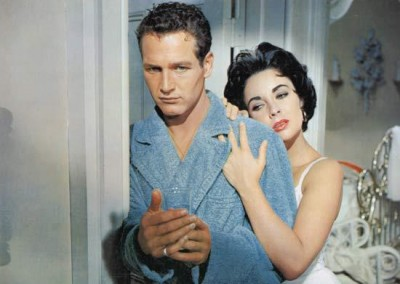 Paul Newman and Elizabeth Taylor (1958)