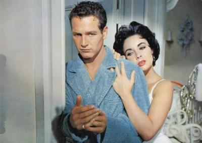 Paul Newman and Elizabeth Taylor (1958)