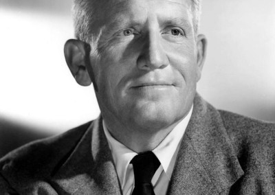 Photo of screen star Spencer Tracy.