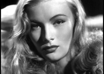 American film actress and pin-up model Veronica Lake