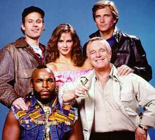 Cast shot from The A Team