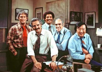 Cast shot from Barney Miller