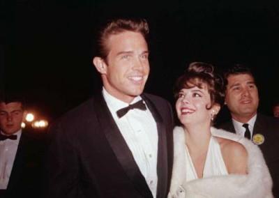 Warren Beatty and Natalie Wood (1962)