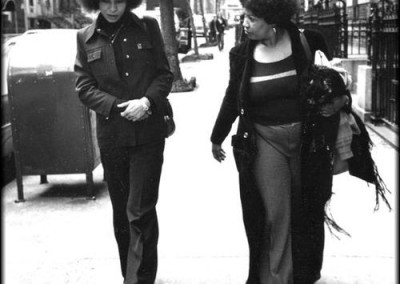 Angela Davis and Toni Morrison (1974)