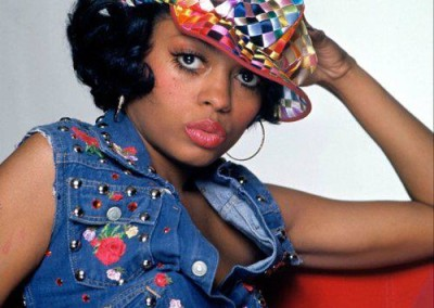 Diana Ross poses for this oh-so 70s photo