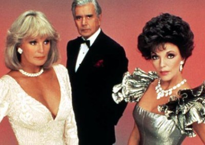 John Forsythe, Linda Evans and Joan Collins