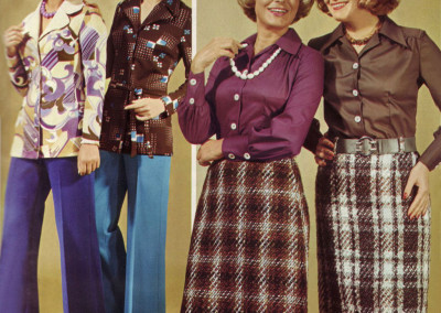 Groovy fashion catalog shot from 1974