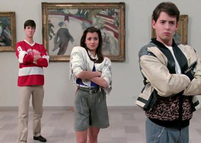 Scene from Ferris Bueller (1986)