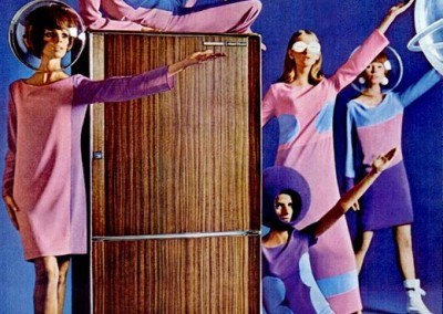 Groovy Frigidaire ad from 1965