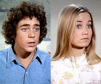 Greg and Marcia from The Brady Bunch