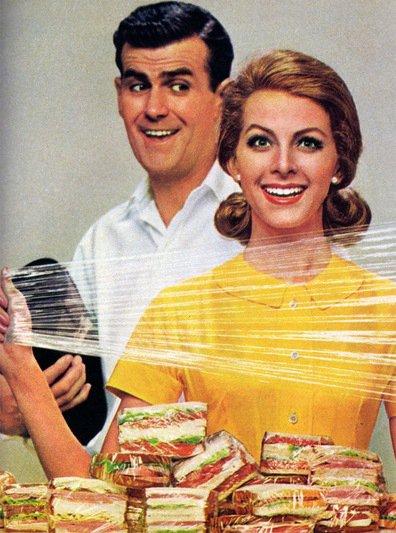 1960s Handi-Wrap magazine ad