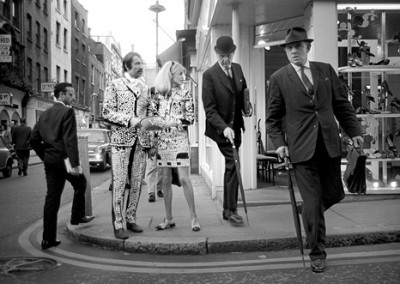 A street view in 1960s London