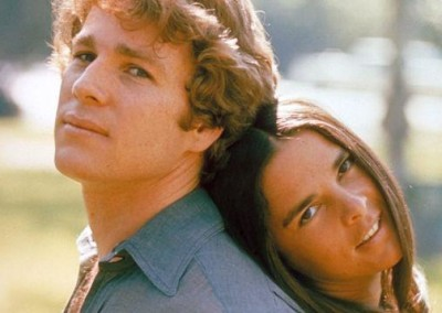 Ryan O'Neal and Ali MacGraw (1970)
