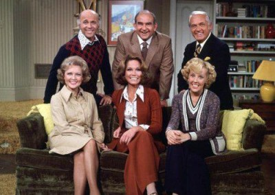 Cast shot from The Mary Tyler Moore Show
