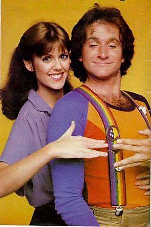 Robin Williams and Pam Dawber