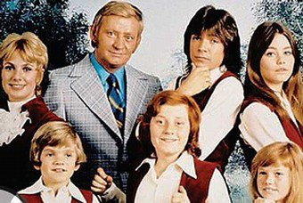 Cast shot from The Partridge Family