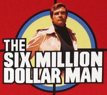 Lee Majors stars as The Six Million Dollar Man