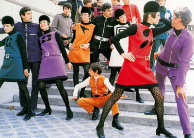 Pierre Cardin- Space Age fashion design (1967)