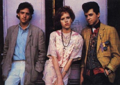 Andrew McCarthy, Molly Ringwald, and Jon Cryer